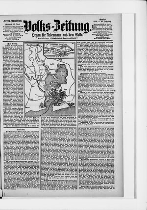 Volks-Zeitung vom 15.06.1898