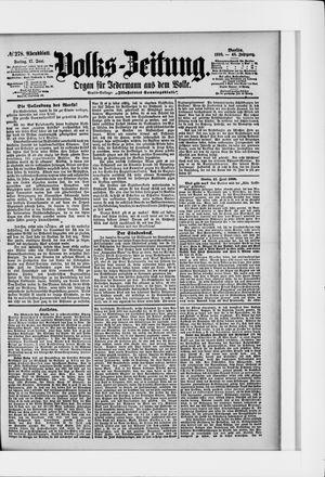 Volks-Zeitung on Jun 17, 1898
