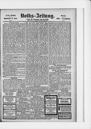 Volks-Zeitung vom 18.06.1898