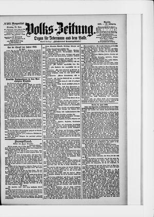 Volks-Zeitung vom 21.06.1898