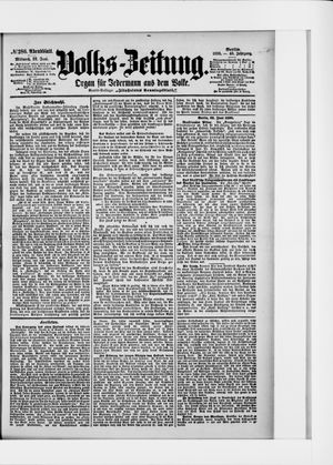 Volks-Zeitung vom 22.06.1898