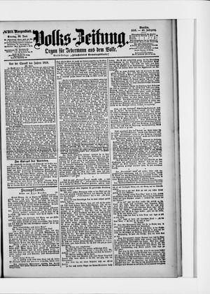 Volks-Zeitung vom 26.06.1898
