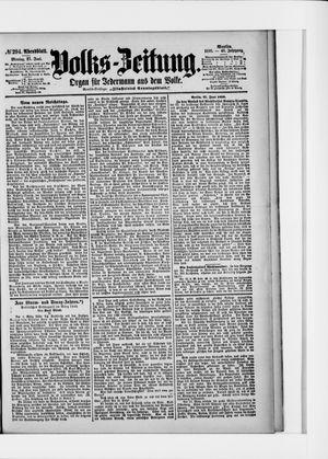 Volks-Zeitung vom 27.06.1898
