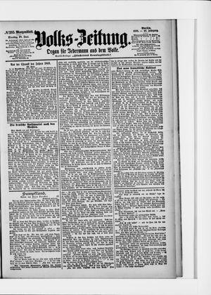 Volks-Zeitung vom 28.06.1898