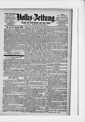 Volks-Zeitung vom 29.06.1898