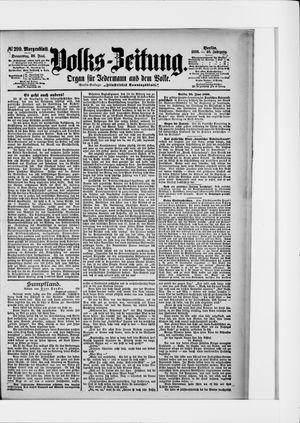 Volks-Zeitung vom 30.06.1898