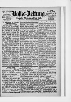 Volks-Zeitung on Jul 7, 1898
