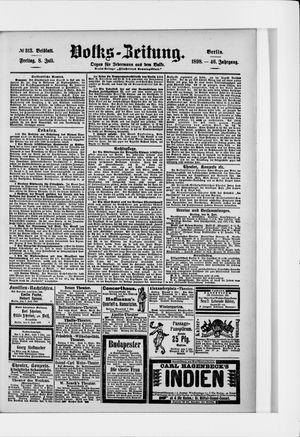 Volks-Zeitung vom 08.07.1898