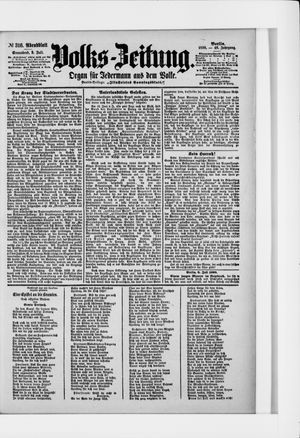 Volks-Zeitung vom 09.07.1898
