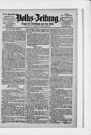 Volks-Zeitung on Jul 13, 1898