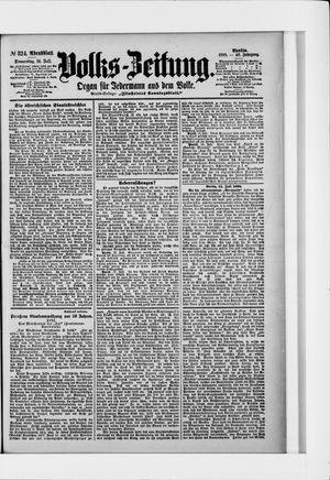 Volks-Zeitung vom 14.07.1898