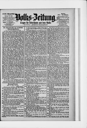 Volks-Zeitung vom 15.07.1898