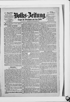 Volks-Zeitung vom 01.01.1899