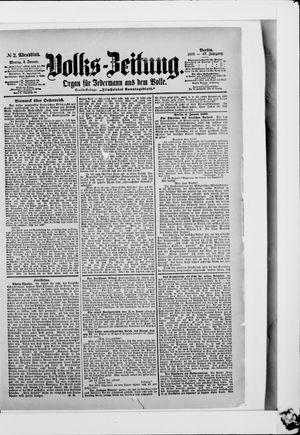 Volks-Zeitung vom 02.01.1899