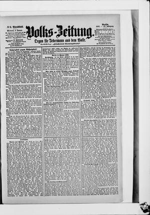 Volks-Zeitung vom 04.01.1899