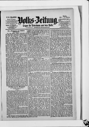 Volks-Zeitung vom 06.01.1899