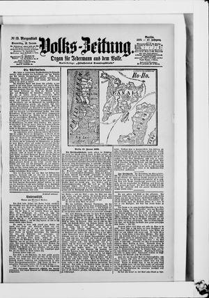 Volks-Zeitung vom 12.01.1899
