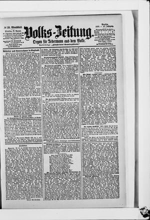 Volks-Zeitung vom 17.01.1899