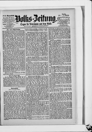 Volks-Zeitung vom 19.01.1899