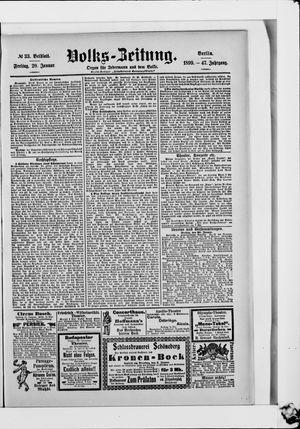 Volks-Zeitung vom 20.01.1899