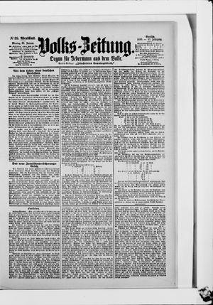 Volks-Zeitung vom 23.01.1899