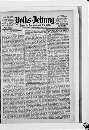 Volks-Zeitung vom 30.01.1899