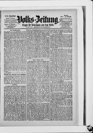 Volks-Zeitung vom 03.02.1899