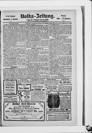 Volks-Zeitung vom 04.02.1899