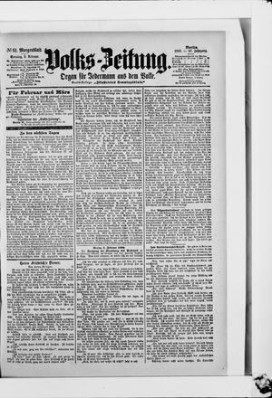 Volks-Zeitung on Feb 5, 1899