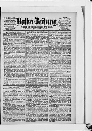 Volks-Zeitung vom 28.02.1899