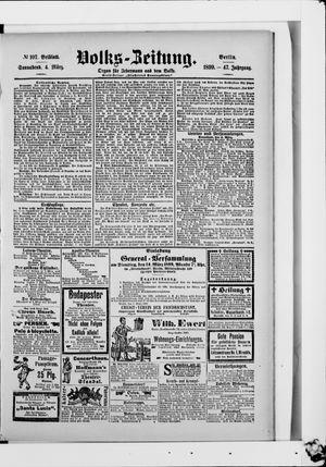 Volks-Zeitung vom 04.03.1899