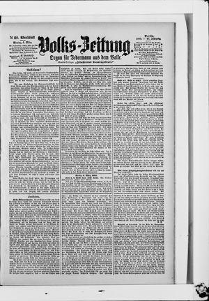 Volks-Zeitung on Mar 6, 1899