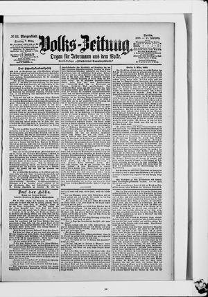 Volks-Zeitung vom 07.03.1899