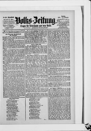 Volks-Zeitung vom 11.03.1899