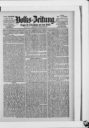 Volks-Zeitung vom 14.03.1899