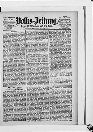 Volks-Zeitung vom 15.03.1899