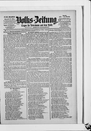 Volks-Zeitung on Mar 18, 1899