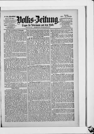 Volks-Zeitung vom 20.03.1899