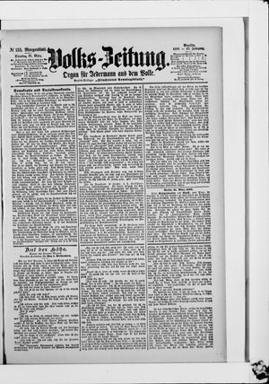 Volks-Zeitung on Mar 21, 1899