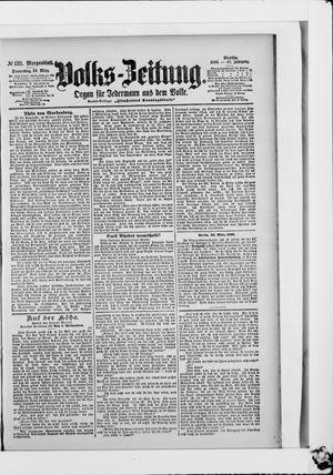 Volks-Zeitung vom 23.03.1899