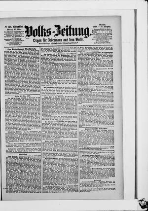 Volks-Zeitung vom 27.03.1899