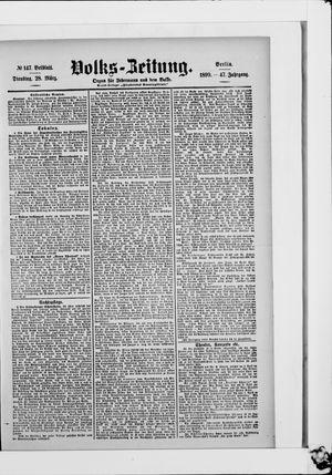 Volks-Zeitung vom 28.03.1899