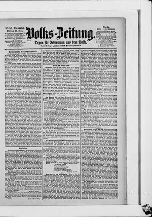 Volks-Zeitung vom 29.03.1899
