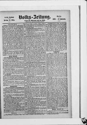 Volks-Zeitung vom 31.03.1899