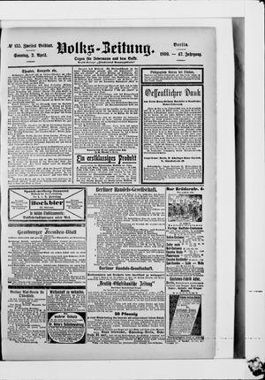 Volks-Zeitung vom 02.04.1899