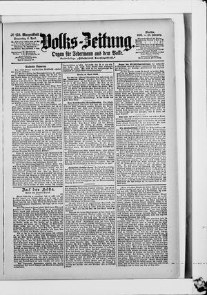 Volks-Zeitung vom 06.04.1899