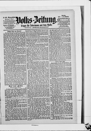 Volks-Zeitung vom 09.04.1899