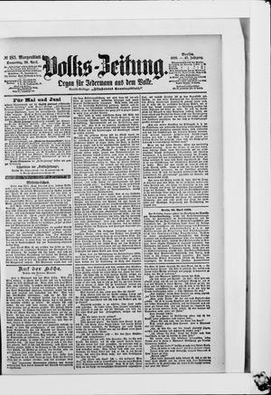 Volks-Zeitung vom 20.04.1899