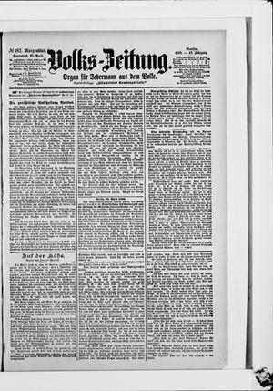Volks-Zeitung vom 22.04.1899
