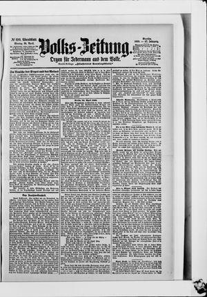 Volks-Zeitung vom 24.04.1899